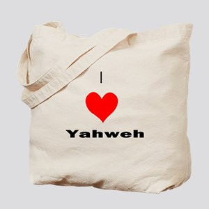 I heart Yahweh Tote Bag