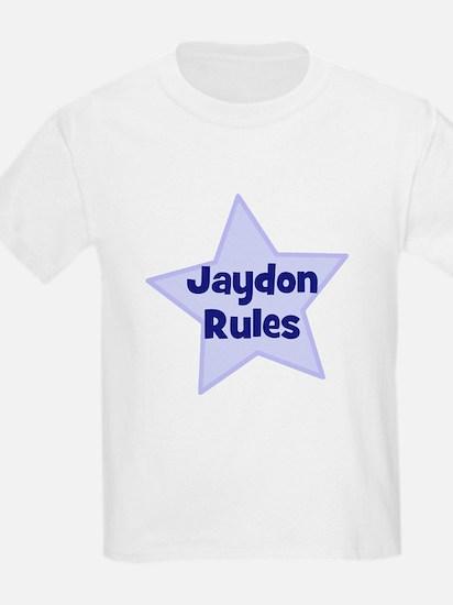 Jaydon Rules Kids T-Shirt