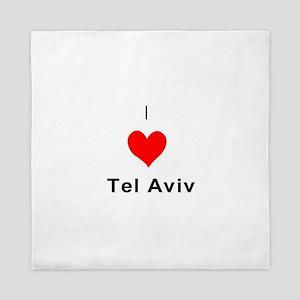 I heart Tel Aviv Queen Duvet