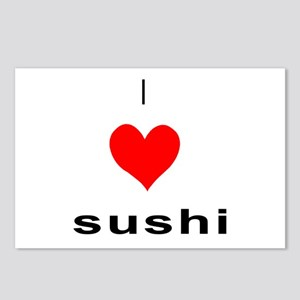 I heart Sushi Postcards (Package of 8)