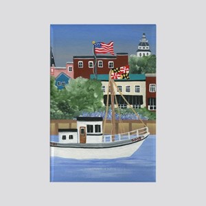 Annapolis View Rectangle Magnet