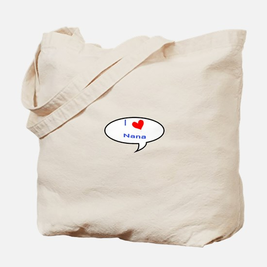 I heart Nana Tote Bag
