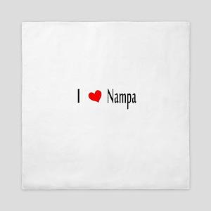 I heart Nampa Queen Duvet