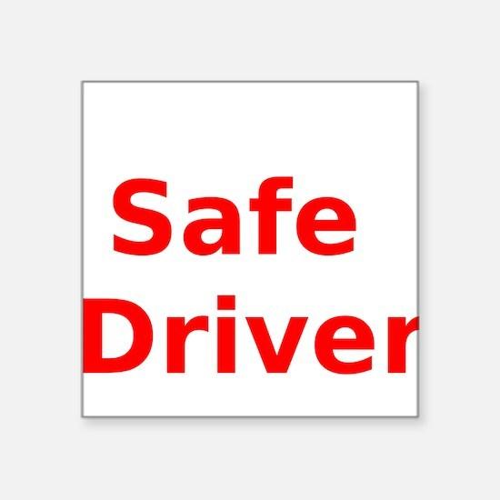 Safe Driver Sticker