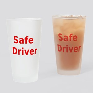 Safe Driver Drinking Glass