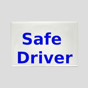 Safe Driver Rectangle Magnet