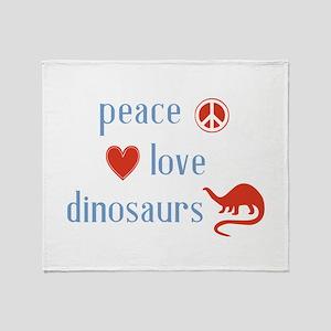 Dinosaurs Throw Blanket