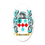 Blomefield Oval Car Magnet