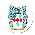 Blomefield Round Car Magnet