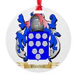Blomdahl Round Ornament