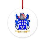 Blomdahl Ornament (Round)