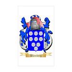 Blomberg Sticker (Rectangle 50 pk)