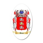 Blois 35x21 Oval Wall Decal