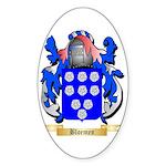Bloemen Sticker (Oval 50 pk)