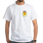 Block White T-Shirt