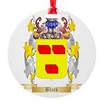 Block Round Ornament