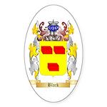 Block Sticker (Oval)