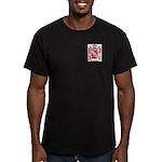 Blissot Men's Fitted T-Shirt (dark)