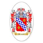 Blissett Sticker (Oval 50 pk)