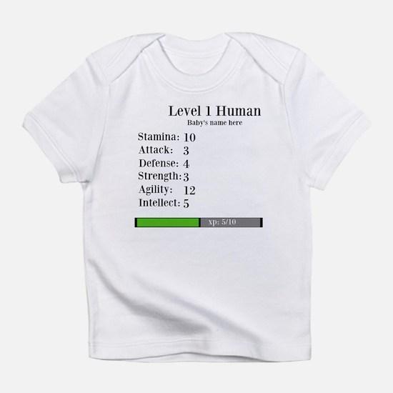 Level 1 Human [Personalize] Infant T-Shirt