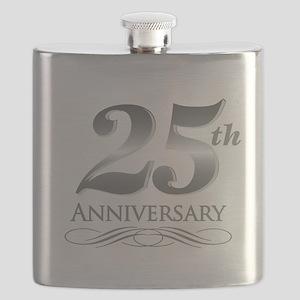 25 Year Anniversary Flask