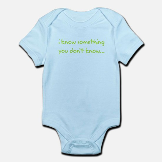 iknowsomething_front Body Suit