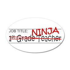 Job Ninja 1st Grade Wall Decal
