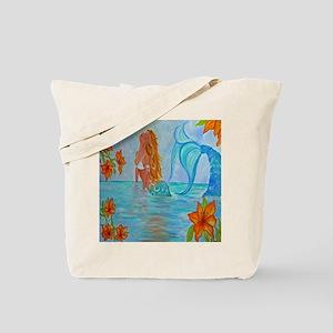 The Wisdom Seeker Mermaid by Alecia Tote Bag