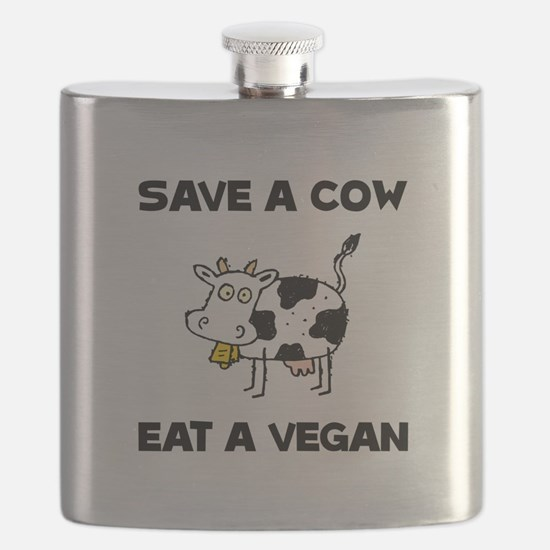 Save Cow Vegan Flask