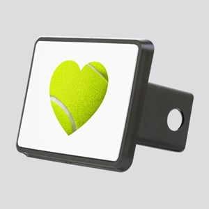 Tennis Heart Hitch Cover