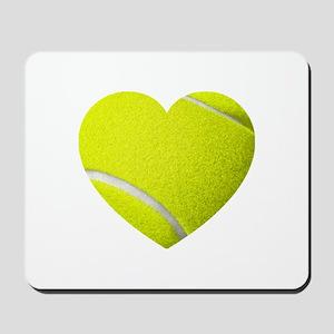 Tennis Heart Mousepad
