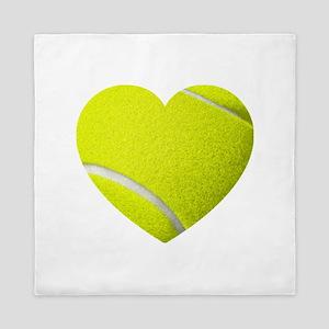 Tennis Heart Queen Duvet