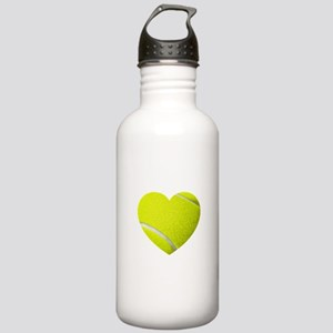 Tennis Heart Water Bottle