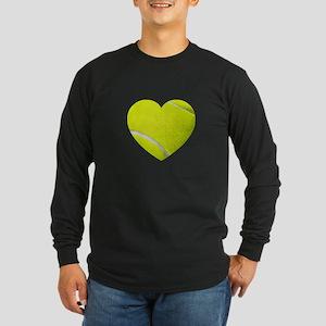 Tennis Heart Long Sleeve T-Shirt