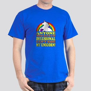 Funny Unicorn (vintage distressed) Dark T-Shirt