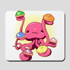 Cupcake Octopus Mousepad