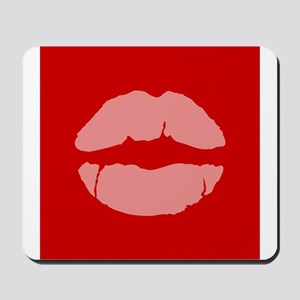 Marriage Equality Lips Symbol Mousepad