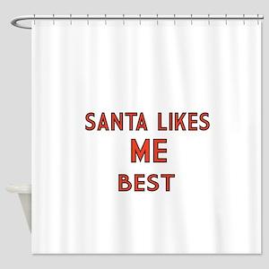 Santa Like me Best Shower Curtain