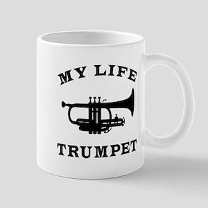 My Life Trumpet Mug