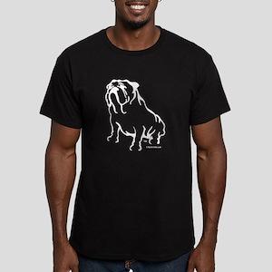 Bulldog Logo White T-Shirt