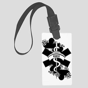 Nurse Heart Tattoo Luggage Tag