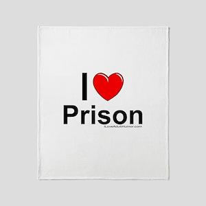 Prison Throw Blanket