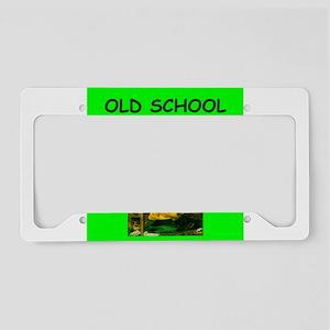 OLD License Plate Holder