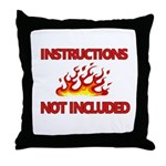 INSTRUCTIONS Throw Pillow