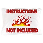 INSTRUCTIONS Pillow Case