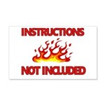 INSTRUCTIONS Wall Decal