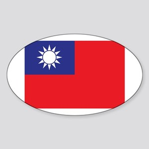 Taiwan1 Sticker (Oval)