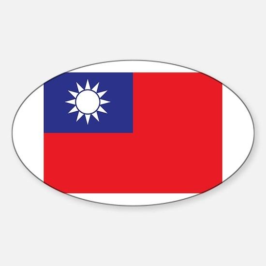 Taiwan1 Sticker (Oval)