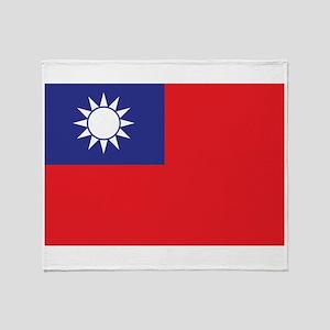 Taiwan1 Throw Blanket