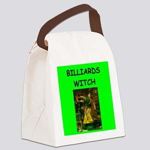 BILLIARDS Canvas Lunch Bag